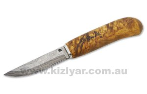 H.Roselli RD310P Damascus Carpenters Knife In Wooden Gift Box