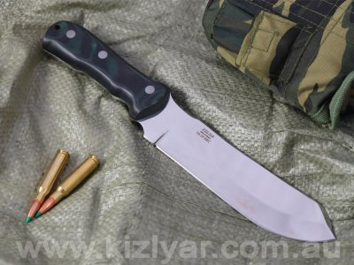 Kizlyar GriIlyass M - Large chopper / Heavy duty field knife