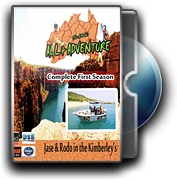 DVD All 4 Adventure in the Kimberley's Complete Season 1
